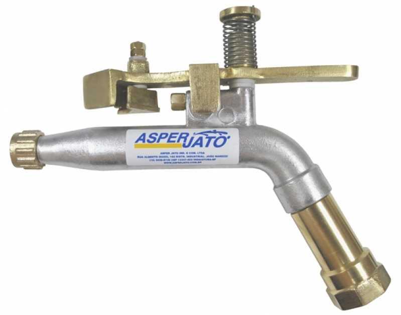 Aspersor Canhão Turbinado para Irrigação Pombal - Aspersor de água Canhão