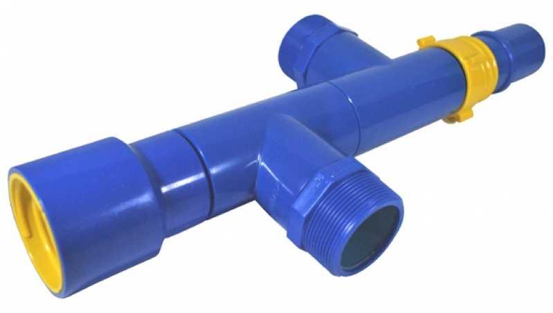 Derivação Cruzeta Fêmea para Sistema de Irrigação Indaiatuba - Derivação Cruzeta para Irrigação