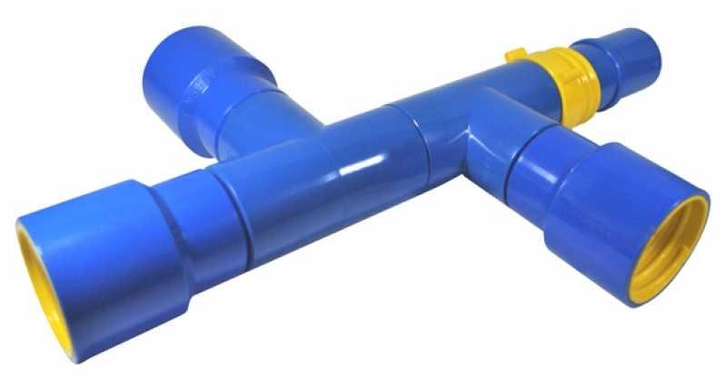 Empresa de Derivação Cruzeta para Irrigação Barra de São Francisco - Derivação Cruzeta Rosca Gás Er