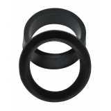 anel de vedação preto